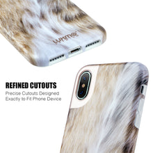 Load image into Gallery viewer, PREMIUM FURBULOUS COLLECTION APPLE IPHONE X ANIMAL FUR DESIGN MATTED TPU CASE - CAT LADY