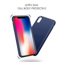 Load image into Gallery viewer, APPLE IPHONE X SIMPLEMADE LIQUID SILICONE BACK COVER CASE