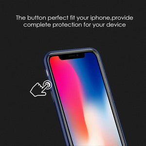 APPLE IPHONE X SIMPLEMADE LIQUID SILICONE BACK COVER CASE
