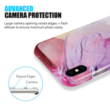 Load image into Gallery viewer, ARTISTRY COLLECTION FULL COVERAGE IMD MARBLE TPU CASE WITH GLITTER FOR IPHONE