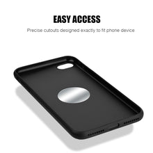 Load image into Gallery viewer, APPLE IPHONE 8/APPLE IPHONE 7 CRAFTMATE FUSION CANDY TPU WITH SOFT COTTON FINISH AND BUILT-IN MAGNETIC PLATE - BLACK