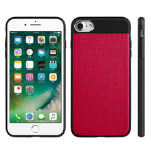 Load image into Gallery viewer, APPLE IPHONE 8/APPLE IPHONE 7 CRAFTMATE FUSION CANDY TPU WITH SOFT COTTON FINISH AND BUILT-IN MAGNETIC PLATE - HOT PINK