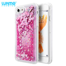 Load image into Gallery viewer, SPRING BLOSSOM WATER COLOR LIQUID GLITTER CASE