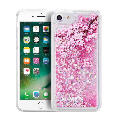 Coming Soon!!! SPRING BLOSSOM WATER COLOR LIQUID GLITTER CASE