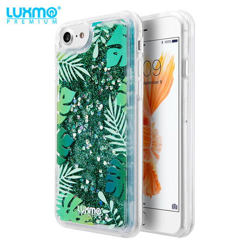 Coming Soon!!! TROPICAL SUMMER WATER COLOR LIQUID GLITTER CASE