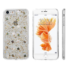 Load image into Gallery viewer, LUXMO PREMIUM THE SEASHELL SERIES FOR IPHONE 8 / 7 / 6 FUSION CANDY CASE WITH GOLD LEAF - GOLD
