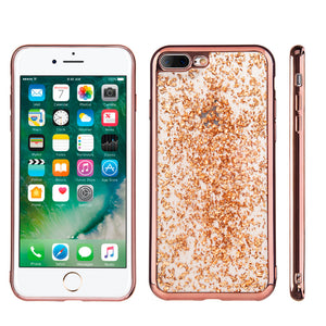 GOLD LEAF ROSEGOLD CASE