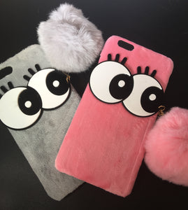 BIG EYE POM POM CASE