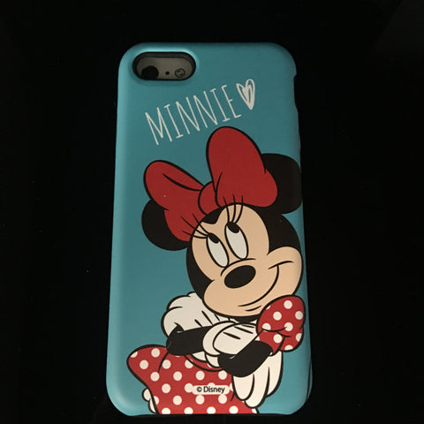 TEAL MINNIE MOUSE CASE