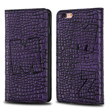 Load image into Gallery viewer, PURPLE GENUINE LEATHER CASE
