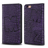 PURPLE GENUINE LEATHER CASE