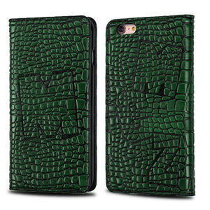 GREEN GENUINE LEATHER CASE