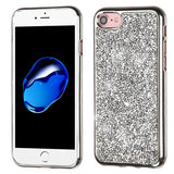 SILVER MINI CRYSTALS RHINESTONE CASE