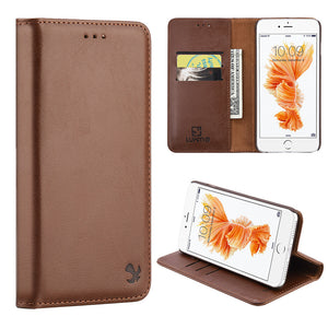 GENTLEMAN MAGNETIC FLIP LEATHR WALLET CASE
