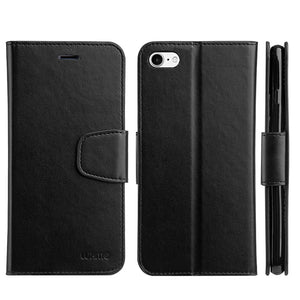 URBAN CLASSIC LEATHER WALLET CASE BLACK