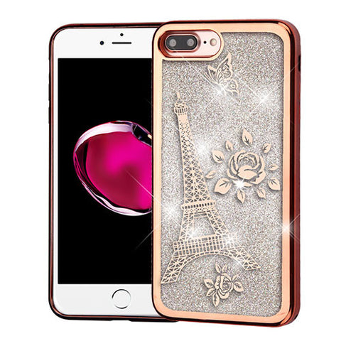 ROSE GOLD ELECTROPLATING LIQUID EIFFLE TOWER
