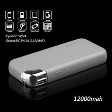 Load image into Gallery viewer, LUXMO POWER BANK GRAY