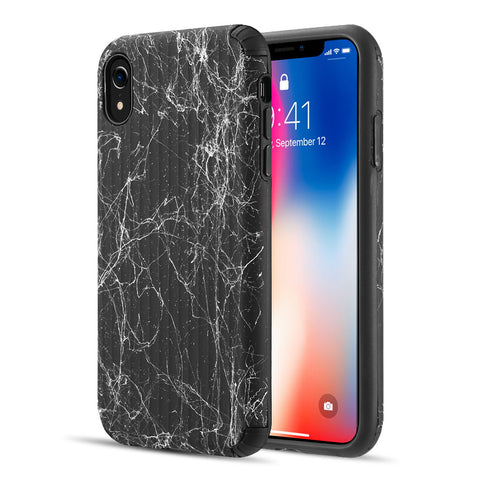 THE SPLASH INK LUGGAGE HYBRID PROTECTION CASE FOR IPHONE XR