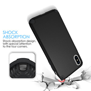 APPLE IPHONE X TITAN ANTI-SHOCK HYBRID PROTECTION CASE