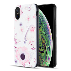 ART POP SERIES 3D EMBOSSED PRINTING HYBRID CASE FOR IPHONE FINCH