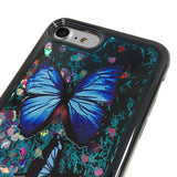 BUTTERFLY LIQUID GLITTER CASE