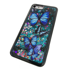 Load image into Gallery viewer, BUTTERFLY LIQUID GLITTER CASE