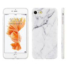 Load image into Gallery viewer, APPLE IPHONE 7 MARBLE IMD SOFT TPU CASE-WHITE