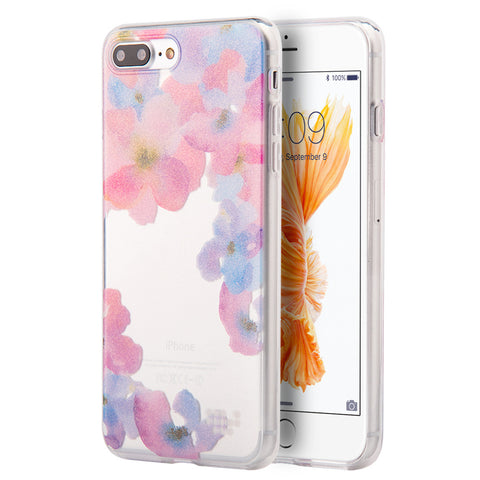 APPLE IPHONE TPU WATER COLOR IMD CASE BE ENCHANTED