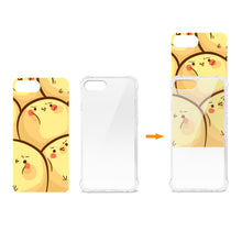 Load image into Gallery viewer, IPHONE 7/8 PLUS CHICK OVERLOAD DESIGN AIR CUSHION CASE IN CLEAR