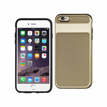 Load image into Gallery viewer, IPHONE 6S PLUS HYBRID SOLID ARMOR BUMPER CASE IN GOLD