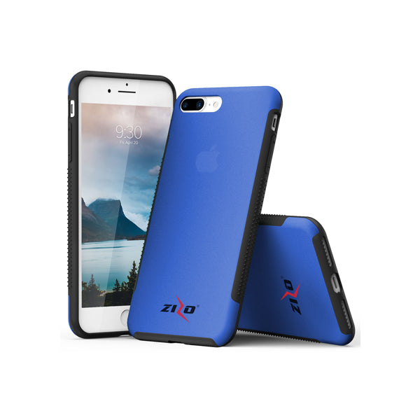 IPHONE 6 PLUS / 6S PLUS / 7 PLUS / 8 PLUS ZIZO FLUX 3.0 HYBRID CASE - BLUE