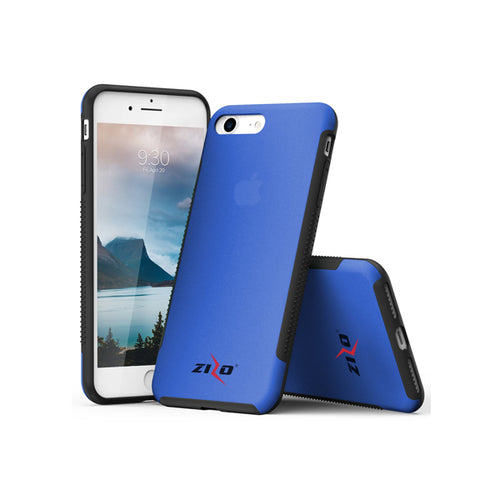 IPHONE 7 / 8 - ZIZO FLUX 3.0 HYBRID CASE - BLUE