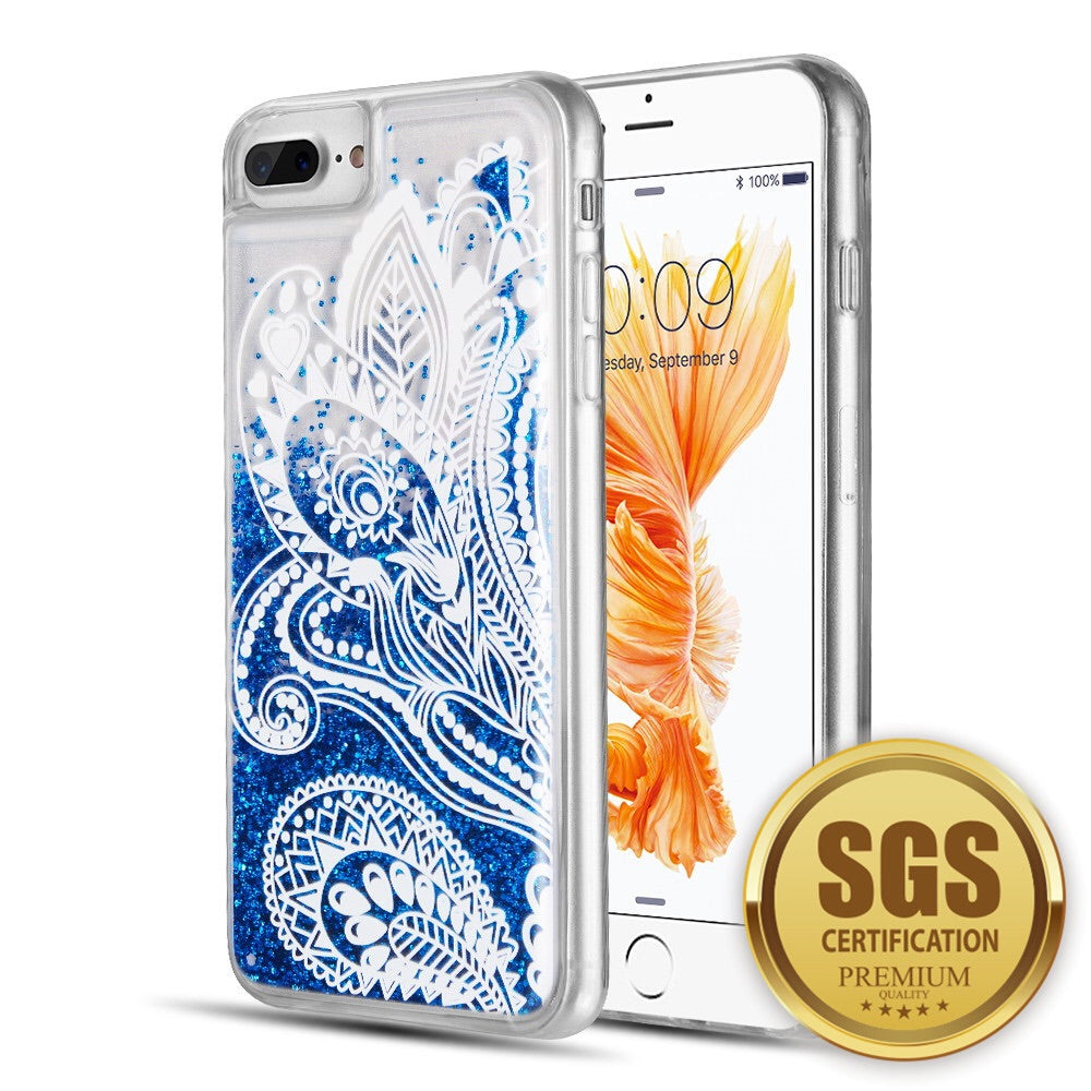 iPhone 8/7/6 blue lace