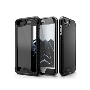 IPHONE 6 / 6S / 7 / 8 - ZIZO ION SINGLE LAYERED HYBRID COVER - BLACK / SMOKE
