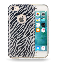 Load image into Gallery viewer, ZEBRA GLITTER CASE