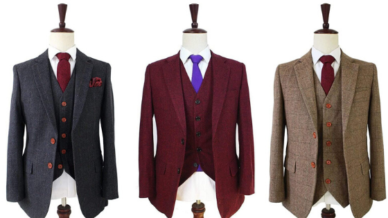 High quality tweed suits