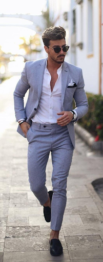 worsted wool suit
