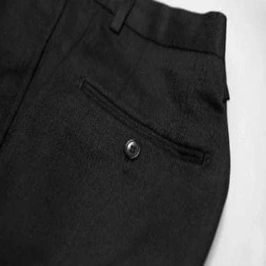 Extra Worsted Wool Trousers