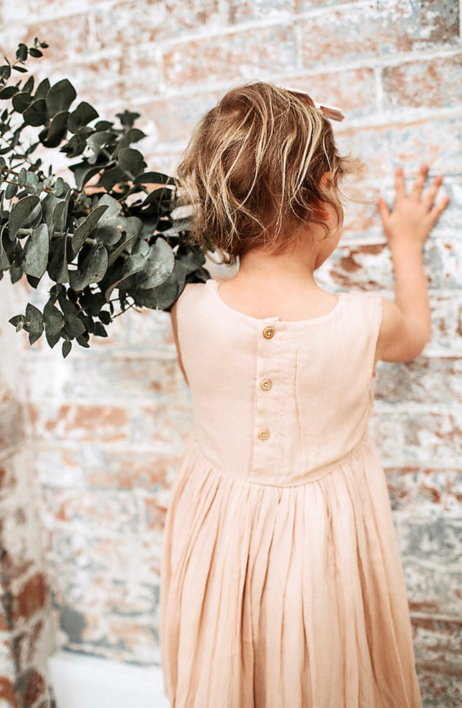 """Marlee"" Dress - Dusty Pink"