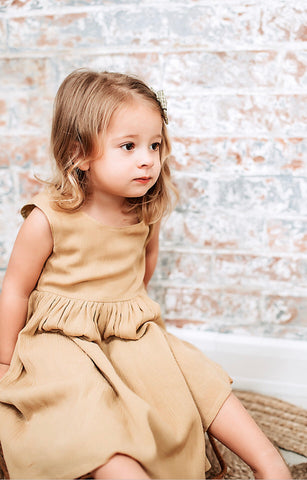 """Marlee"" Dress - Mustard"