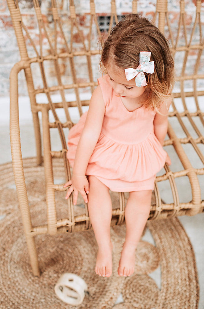 """Marlee"" Dress - Peach"