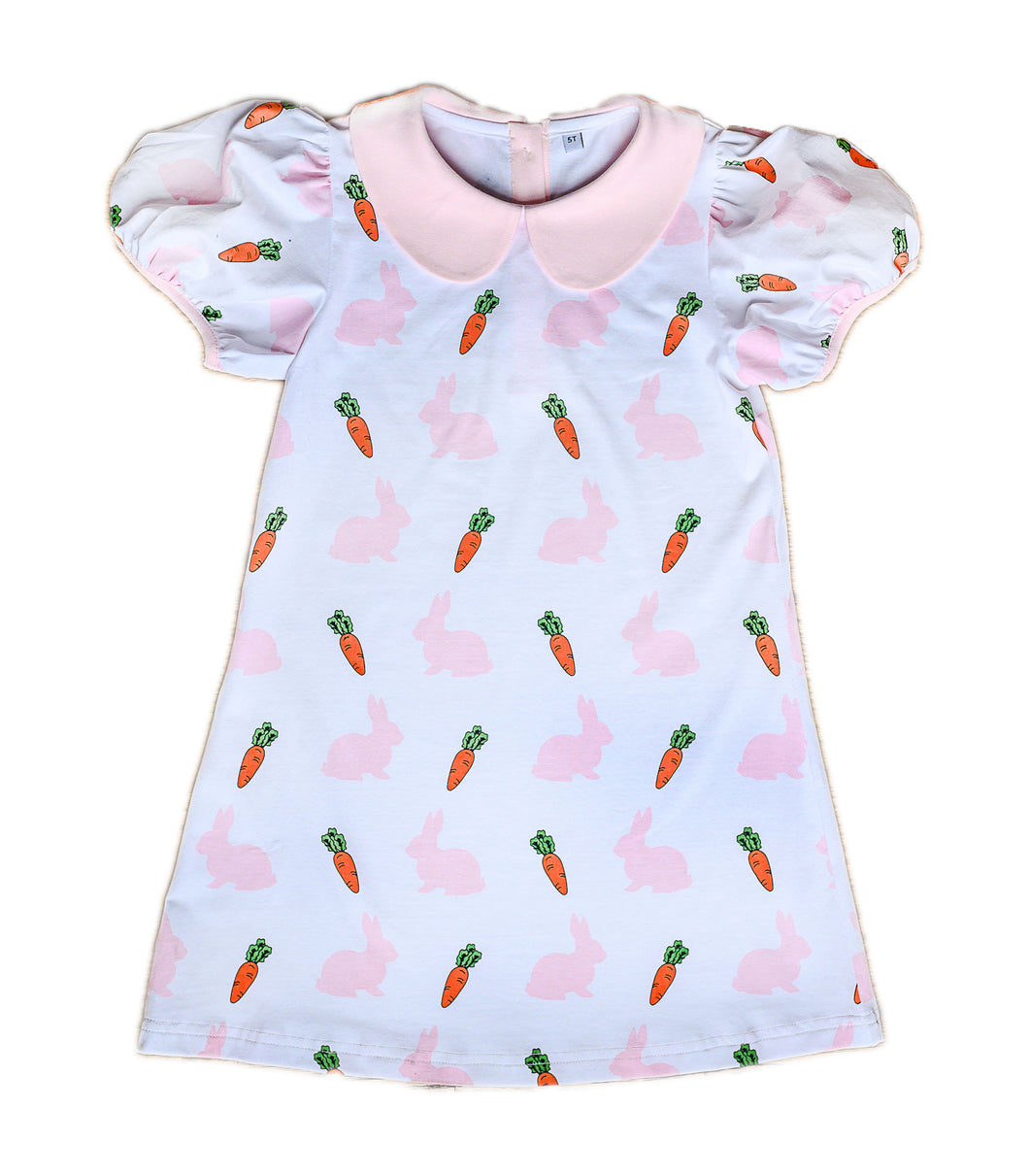 Bunnies & Carrots Play Dress