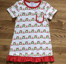 Merry Wreath Girls Nightgown