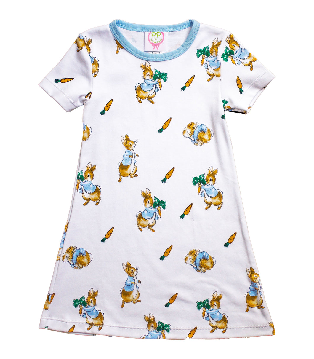 Peter Rabbit Pima Cotton Dress