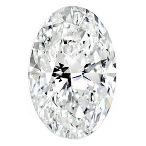 0.30 Carat Oval Diamond J Color SI2 Clarity - Kura Jewellery