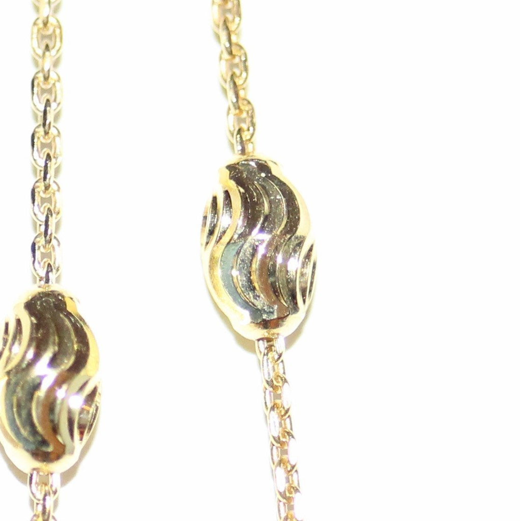 Opera Necklace - Yellow Gold Plated on Sterling Silver
