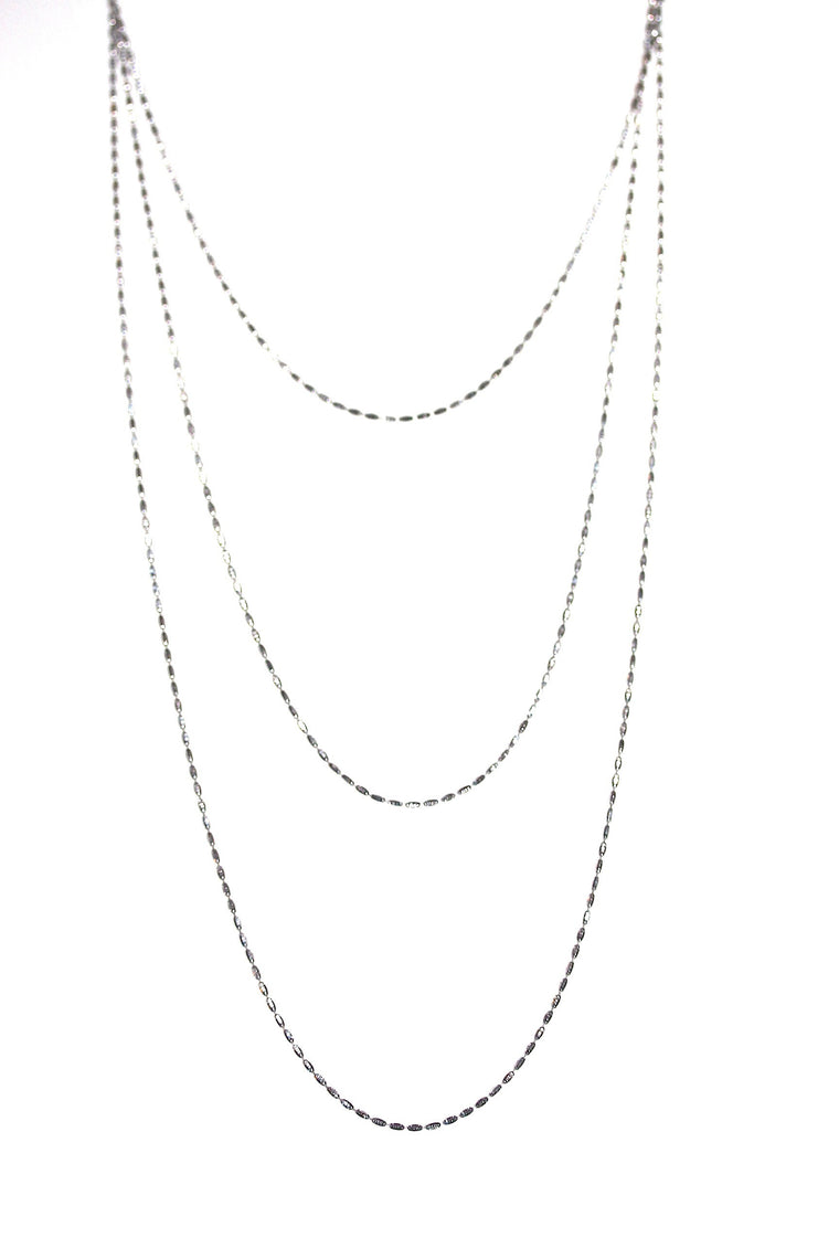 Riso Necklace - Sterling Silver