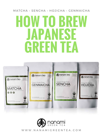 How to brew Japanese green tea - Matcha, Sencha, Hojicha and Genmaicha?