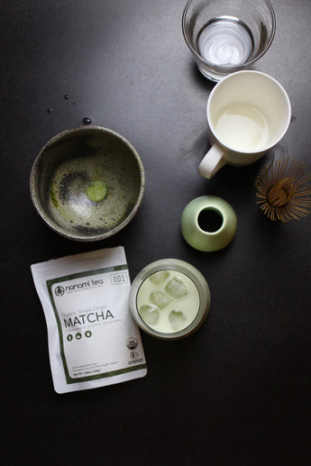 How to make an iced matcha green tea latte