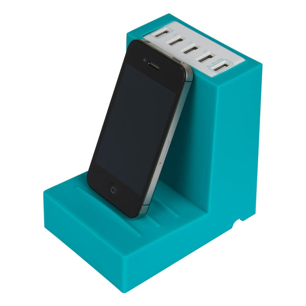 Bookend - 5 USB high power charging station